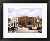 Police Station Framed Print