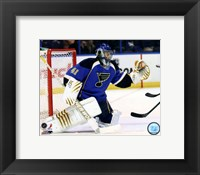 Framed Jaroslav Halak 2011-12 Action
