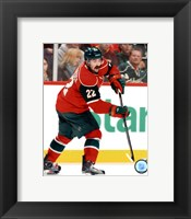 Framed Cal Clutterbuck 2011-12 Action