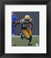 Framed Donald Driver 2011 Action
