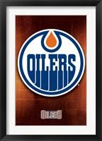 Framed Oilers® - Logo 11