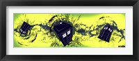Framed Doctor Who Tardis Taking Off Horiz.