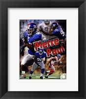 Framed Jason Pierre-Paul 2011 Portrait Plus