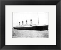 Framed Titanic B&W