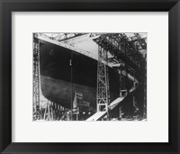 The Titanic Framed Print