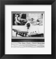 Framed Great Titanic Disaster