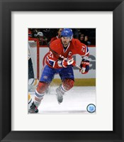 Framed Brian Gionta 2011-12 Action