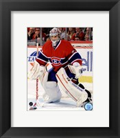 Framed Carey Price 2011-12 Action