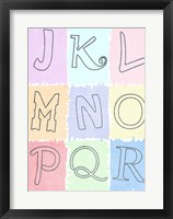 Framed Alphabet II