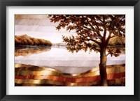 Framed Lake Mamry