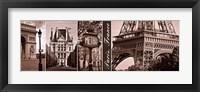 Framed Glimpse of Paris