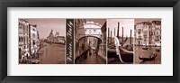 Framed Glimpse of Venice