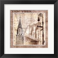 New York Serenade Framed Print