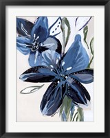 Framed Flowers of Azure II