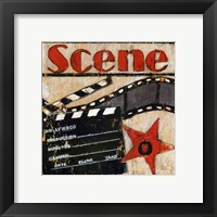 Scene - mini Framed Print