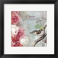 Tiffany Nature I - mini Framed Print