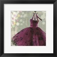 Framed Fuschia Dress I