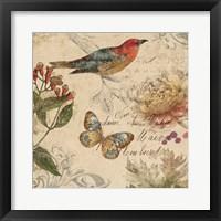 Natures Rhapsody II Framed Print
