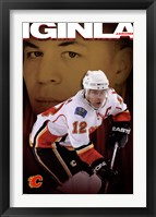 Framed Flames® - J Iginla 09