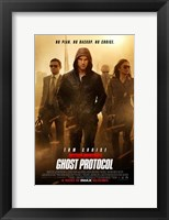 Framed Mission: Impossible - Ghost Protocol