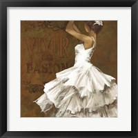 La Dance II Framed Print