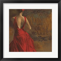 La Dance I Framed Print