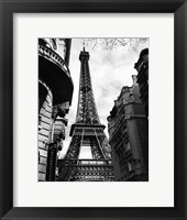 Eiffel Tower I Framed Print