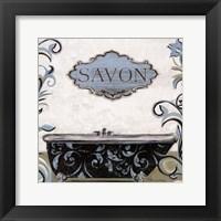 Framed Savon