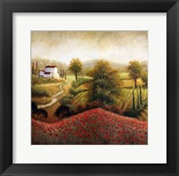 Flourishing Vineyard II Framed Print