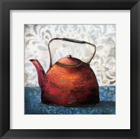 Framed Red Pots I