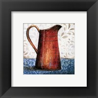 Red Pots II Framed Print