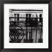 Framed Paris Hotel II