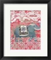 Framed Pink Bazaar II