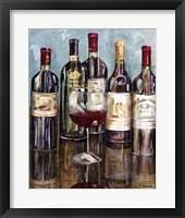 Wine Tasting I Framed Print