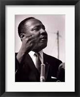 Framed MLK