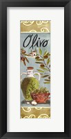 Olives On Beige II Framed Print