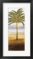 Framed Beach Palm II