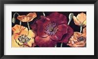 Framed Dazzlin poppies I