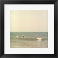 Framed Carolina Beach III