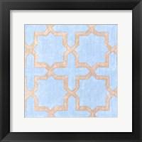 Framed Garden Tile II