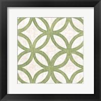Framed Garden Tile III