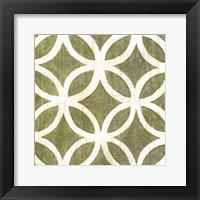 Framed Garden Tile IV
