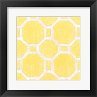 Framed Garden Tile VI