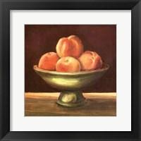 Framed Rustic Fruit Bowl I