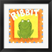 Framed Ribbit