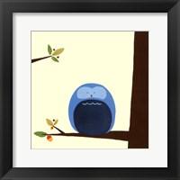 Orchard Owls I Framed Print