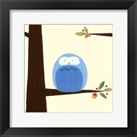 Orchard Owls III Framed Print