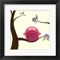 Orchard Owls IV Framed Print