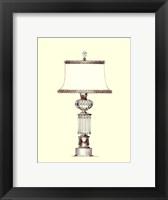 Boudoir Lamp III Framed Print