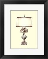 Boudoir Lamp V Framed Print